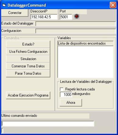 Aplicacion de Control del DL1300