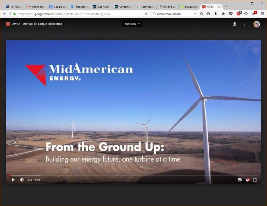 Video de instalación de un Aerogenerador